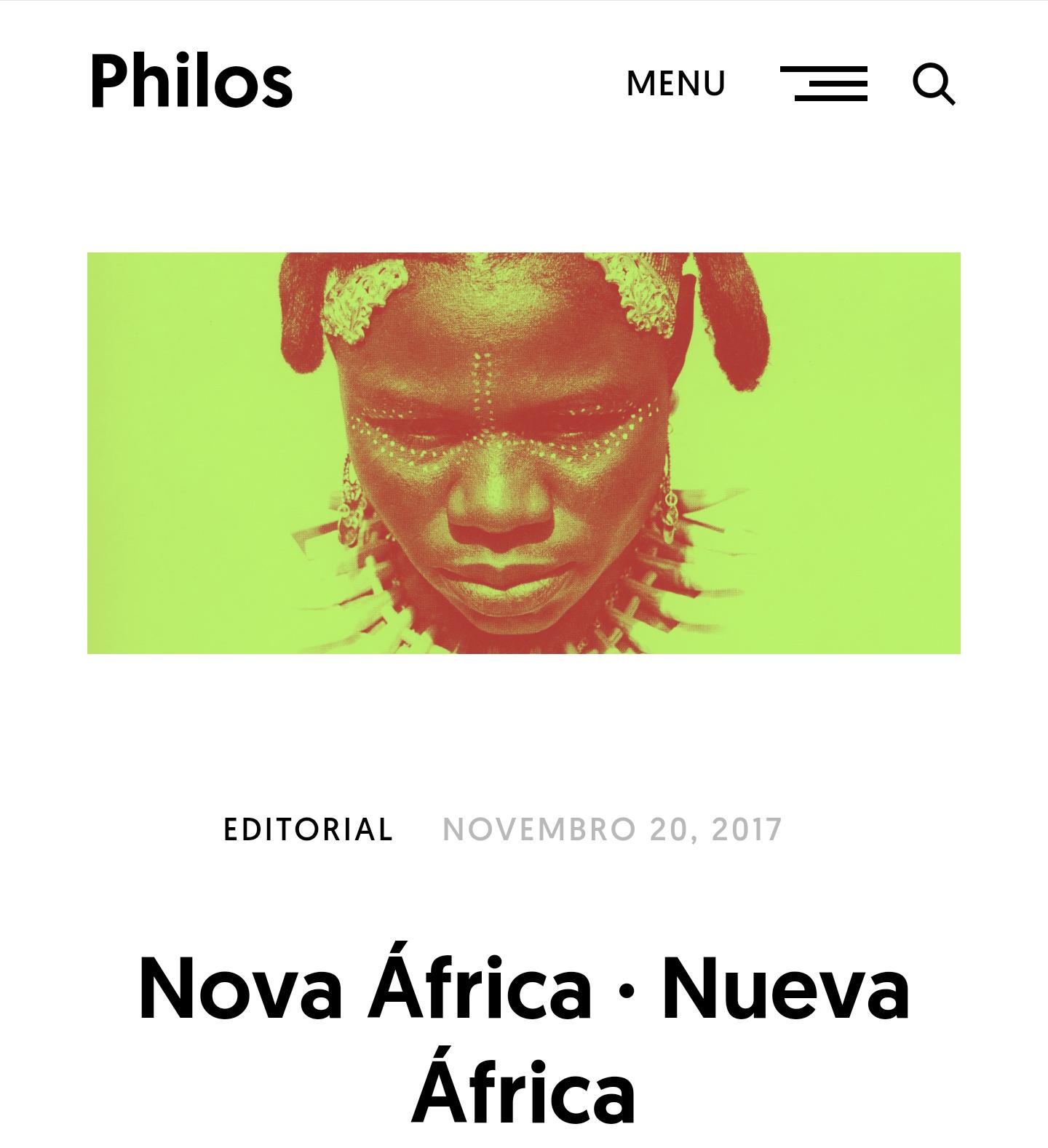 Revista Neolatina- Philos – mostra de Poesia Negra Contemporânea