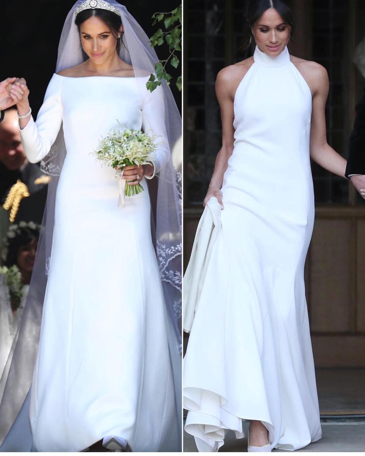 Look minimalista em casamento real 👑
